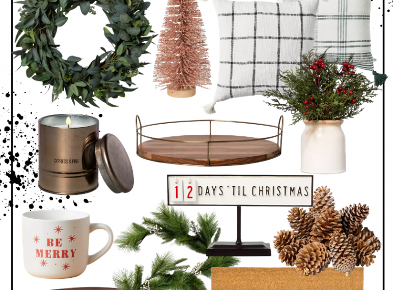 Target Holiday Home Decor