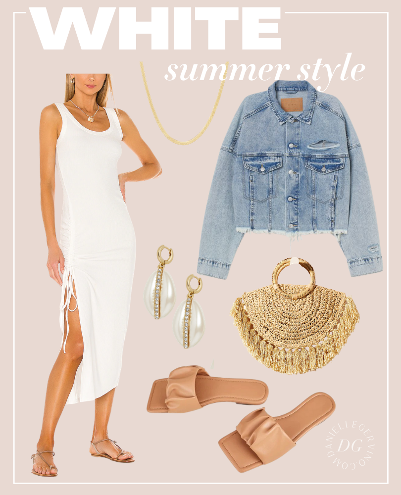 Summer White Outfit Ideas
